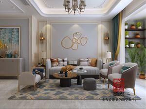 融创中心155现代风格设计师效果图