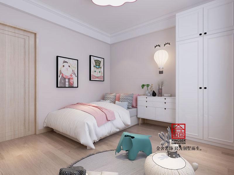 东南智汇城-四室两厅-美式-儿童房效果图