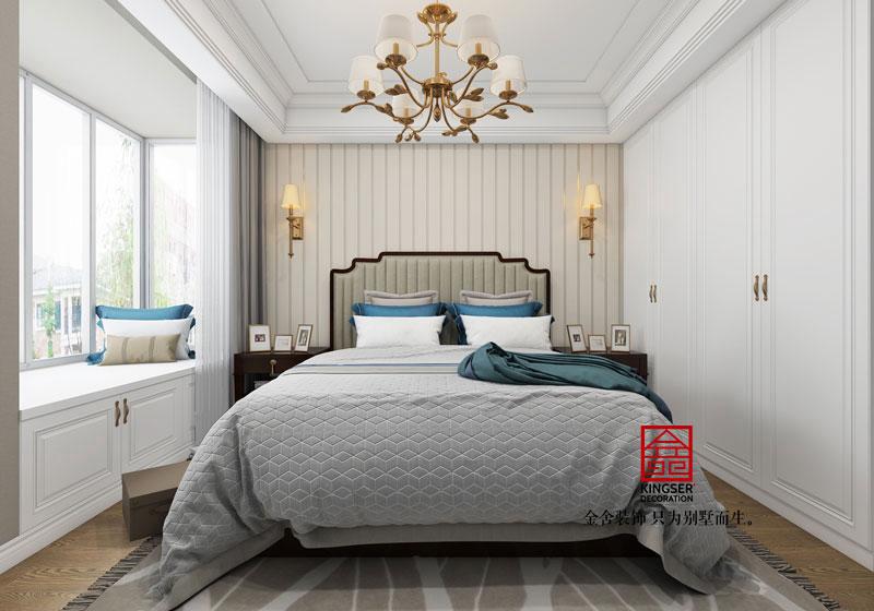 东南智汇城-四室两厅-美式-卧室效果图