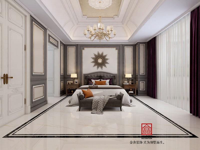 万科红郡380平米美式风格卧室设计案例
