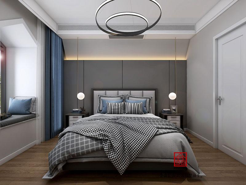 塞纳城邦180平米简约风格卧室设计效果图
