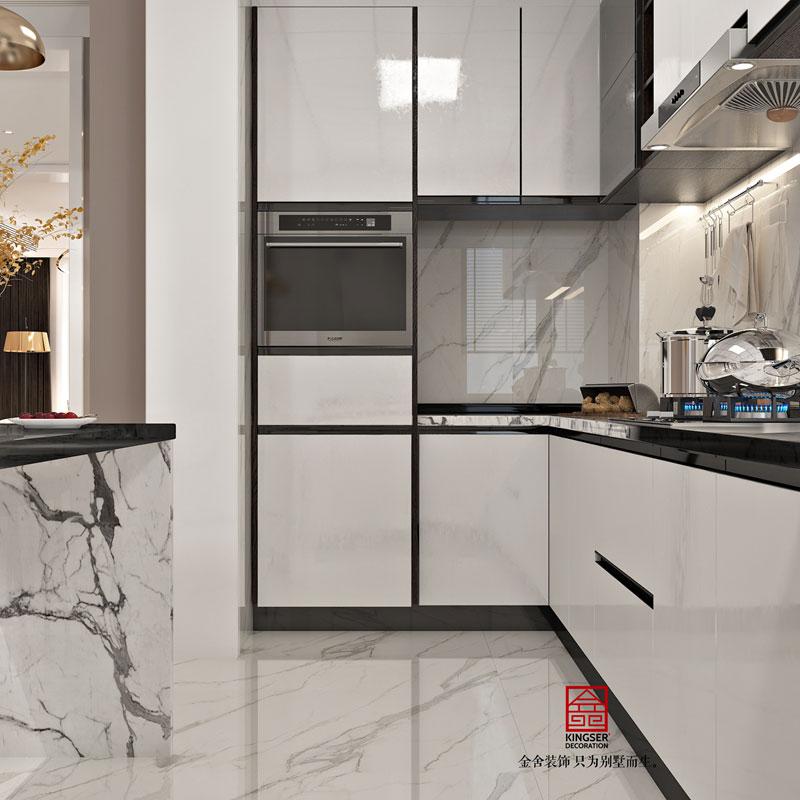 丽景琴园152平米简约风格厨房设计效果图