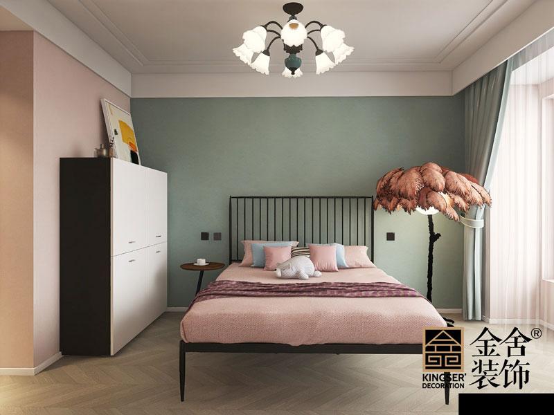 天成嶺秀126平米現代簡約裝修臥室設計效果圖