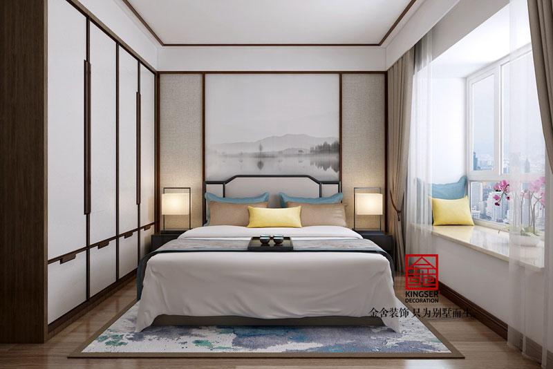 德贤公馆138平米装修设计中式风格效果图