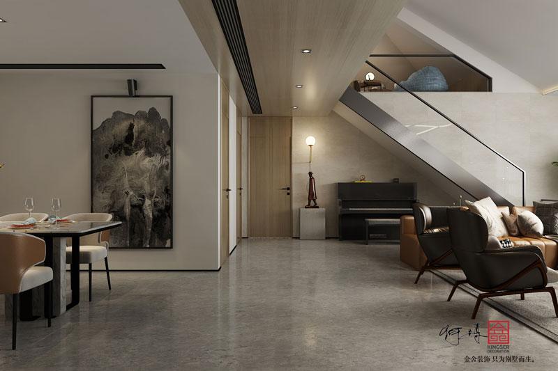 西山林語-洋房裝修-現代風格效果圖