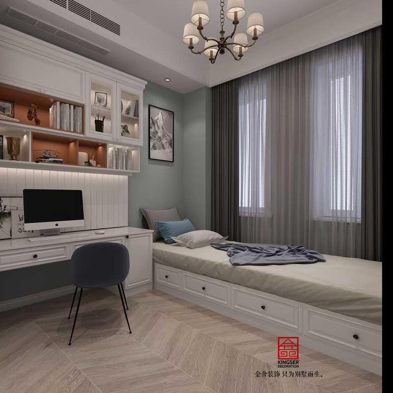 别墅装修-美式风格-效果图