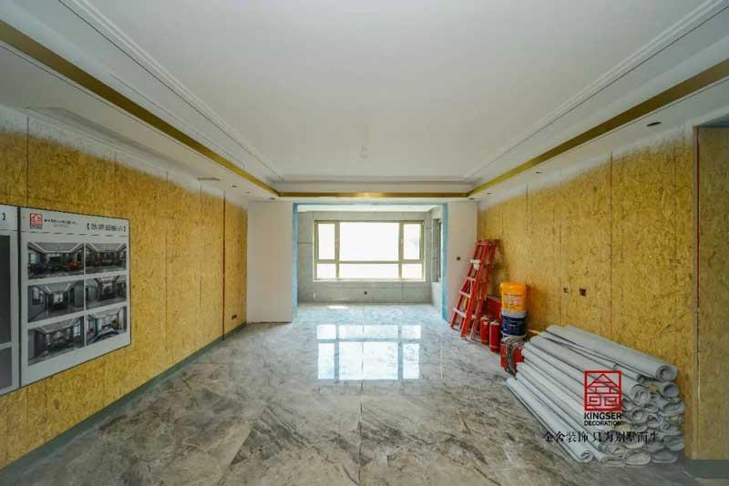 东南智汇城装修设计工地实景