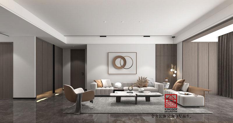 融创中心217平现代风格装修设计方案