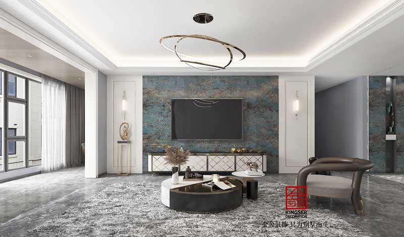 融创中心217平轻奢风格设计方案