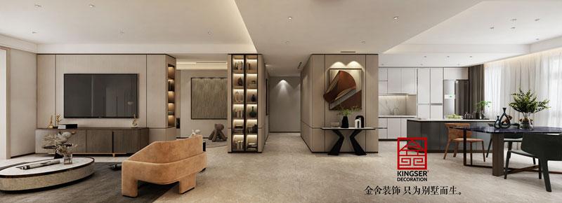 融創中心217平米裝修設計方案