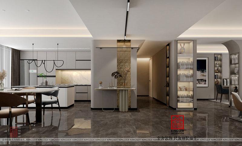 融创中心-三房二厅-装修设计
