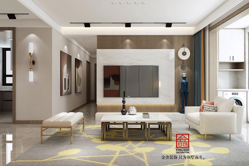 融创中心107平-现代风格-装修设计