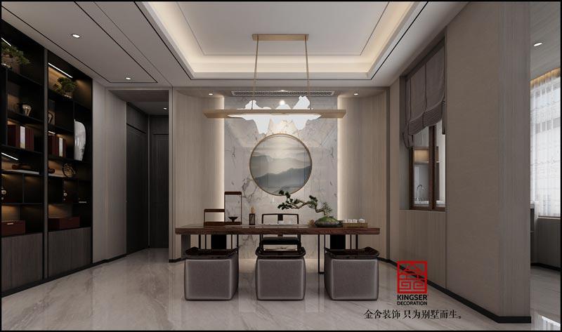 荣盛华府-新中式-装修效果图