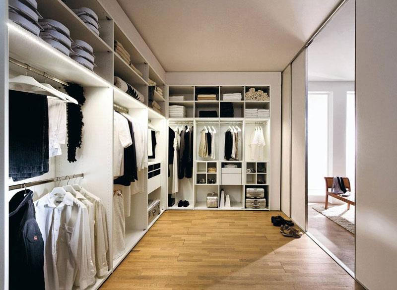 步入式衣帽间的优势有哪些 怎样来设计装修步入式衣帽间