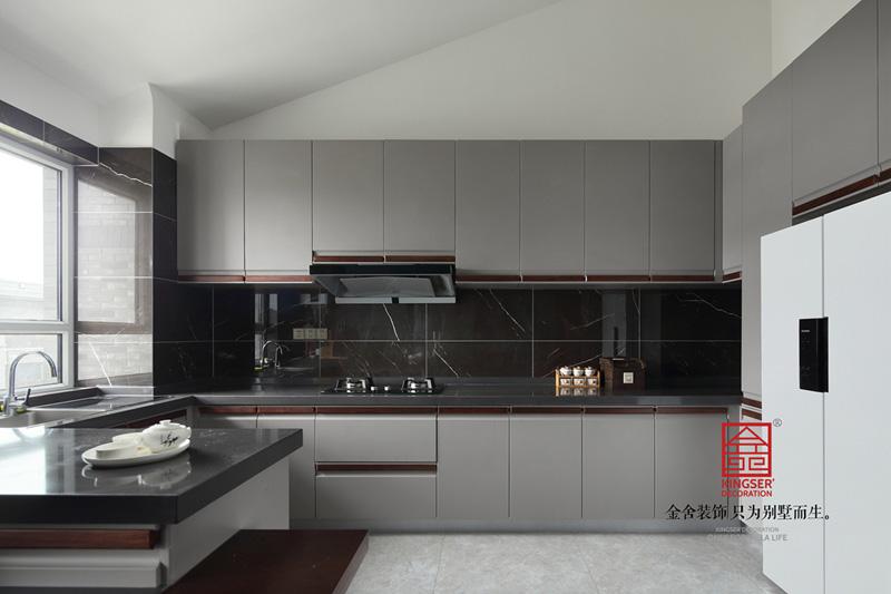 御河上院220㎡裝修-現代輕奢-廚房