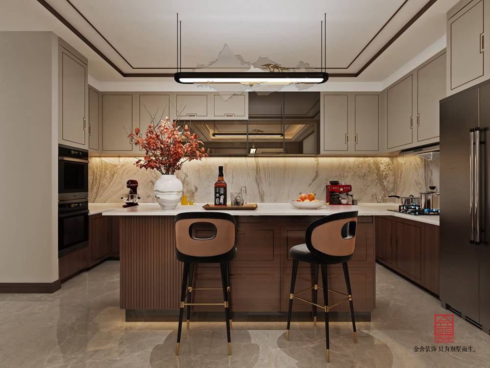 開元府398平米裝修-廚房