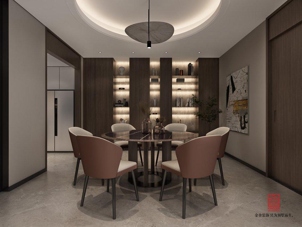 開元府398平米新中式風格裝修-餐廳