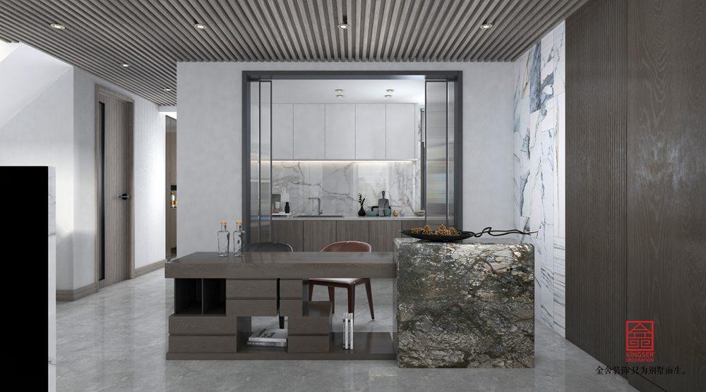 中央云著246平米裝修-現代簡約-廚房