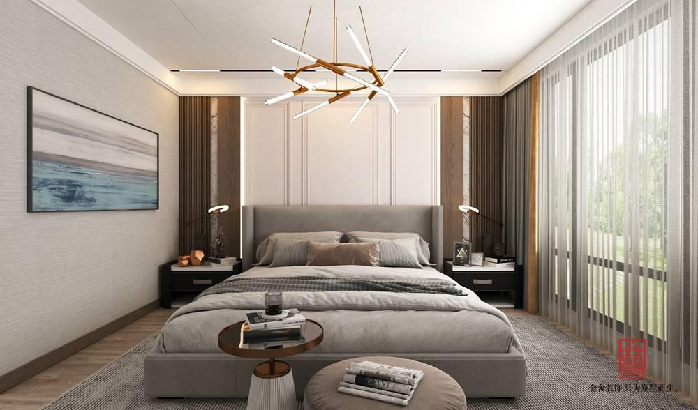 中央云著246平米裝修-現代簡約-臥室