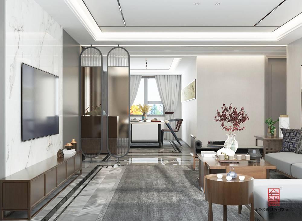 陽光國際190平米裝修-新中式風格-餐廳
