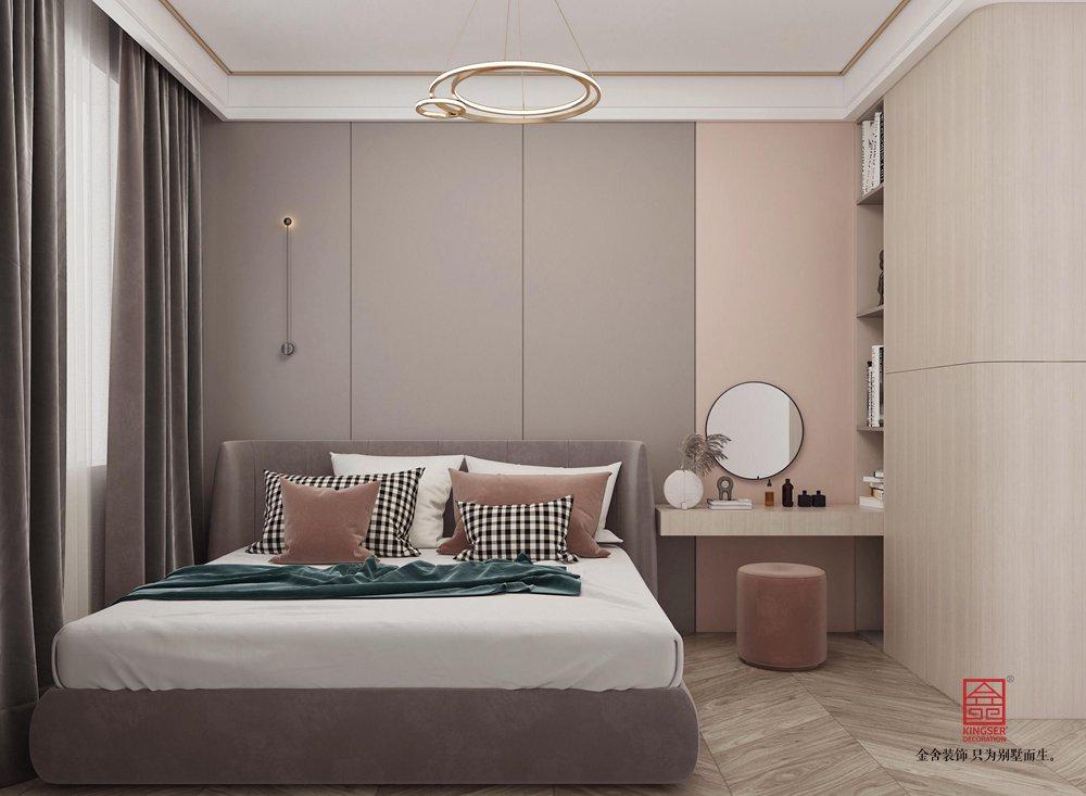 陽光國際190平米裝修-新中式風格-女兒房
