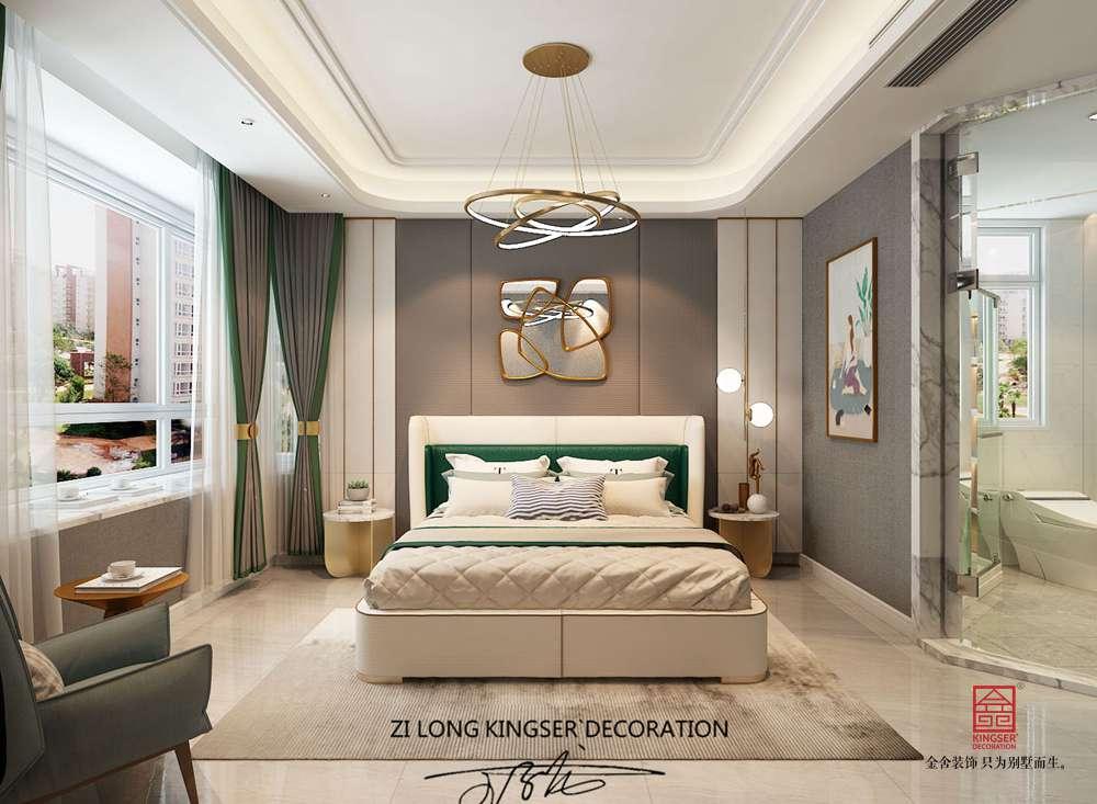 府上160平米現代風格裝修-臥室