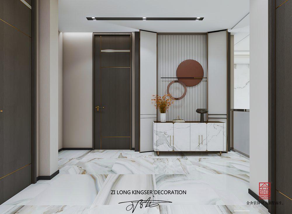 漢王府230平米現代簡約裝修-玄關